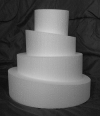 Topsy Turvy Round Cake Dummies
