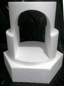centre cut hole arch dummy