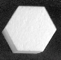 hexagon cake dummy