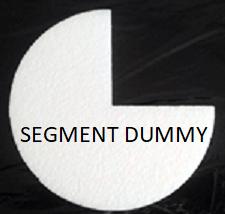 segment cake dummy