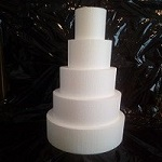 cake dummy stack